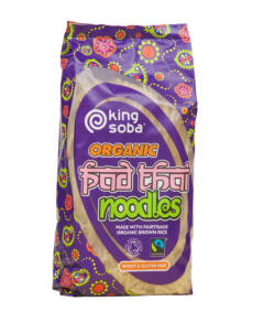 king soba BIO gluténmentes pad thai tészta 250g
