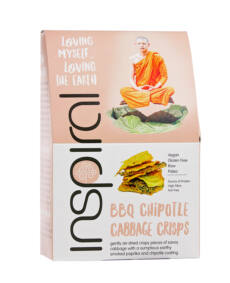Inspiral Barbecue chipotle-kelkáposzta ropogós 40g
