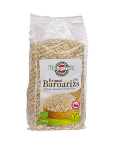 BIO basmati barna rizs 500g