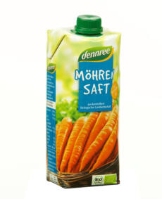 dennree BIO sárgarépalé 500ml