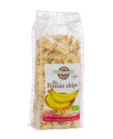 BIO banánchips 250g