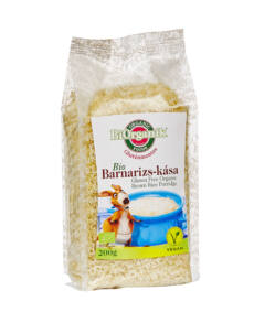 BIO gluténmentes barnarizs-kása 200g