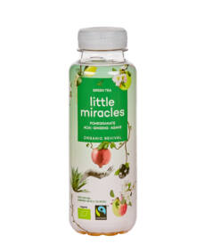 Little Miracles BIO zöld tea 330ml
