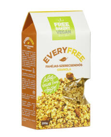 EveryFree gm. fahéjas-szerecsendiós granola 200g