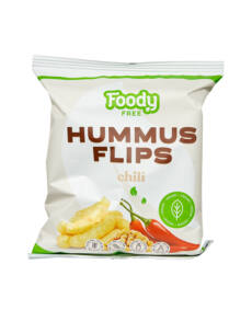 Foody Free gluténmentes hummus flips chilivel 50g