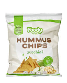 Foody Free gm. hummus chips cukkinivel 50g