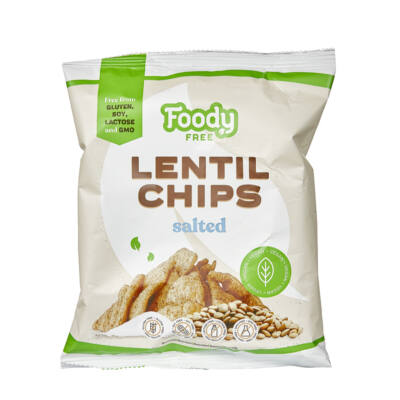 Foody Free gm. lencse chips sós 50g